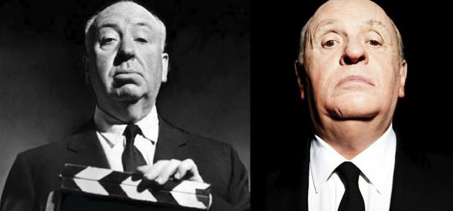 2. Anthony Hopkins - Alfred Hitchcock