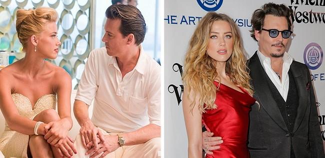 3)Johnny Depp és Amber Heard