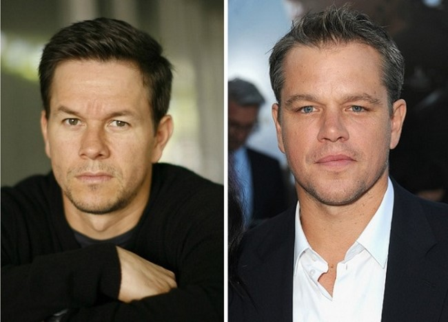 4) Mark Wahlberg és Matt Damon