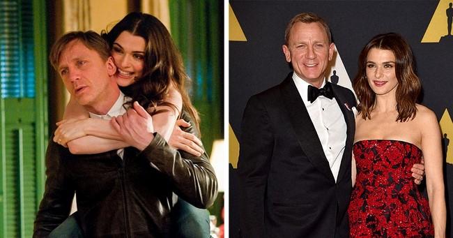 8)Daniel Craig és Rachel Weisz
