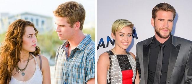 9)Liam Hemsworth és Miley Cyrus