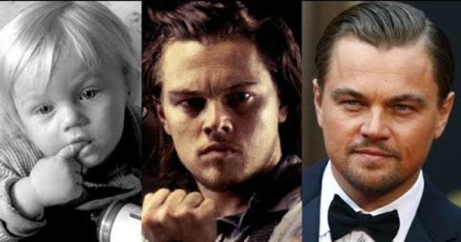 Leonardo DiCaprio így változott meg az évtizedek során
