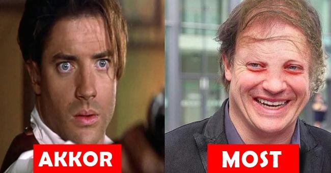 A Múmia film szereplői régen és most