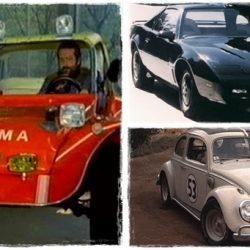 A filmtörténelem 30 leghíresebb autója
