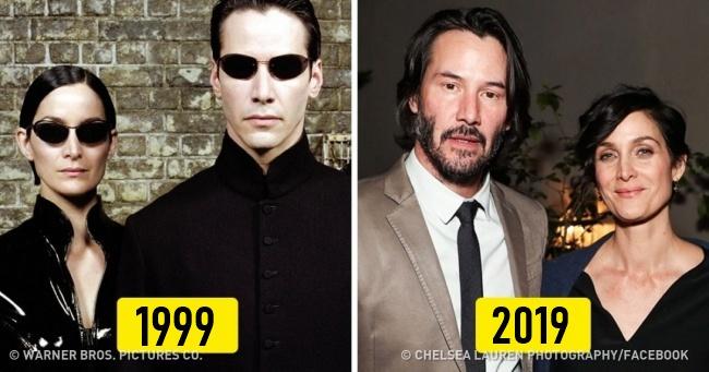 Híres filmek szereplői akkor és most