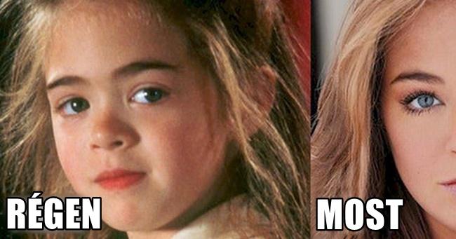 A Hook gyereksztárjai régen és most