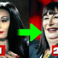 Az Addams Family szereplői régen és most