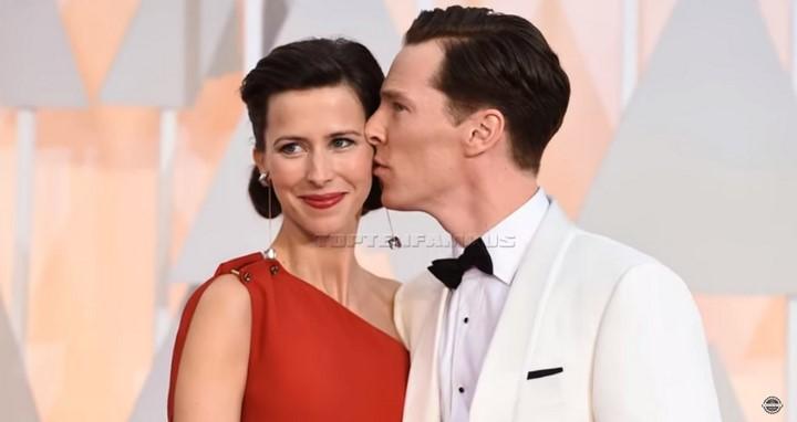 1) Benedict Cumberbatch (Doktor Strange) és felesége Sophie Turner
