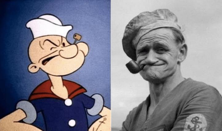 "Popeye, a tengerész – Frank ""Rocky"" Fiegel tengerész"