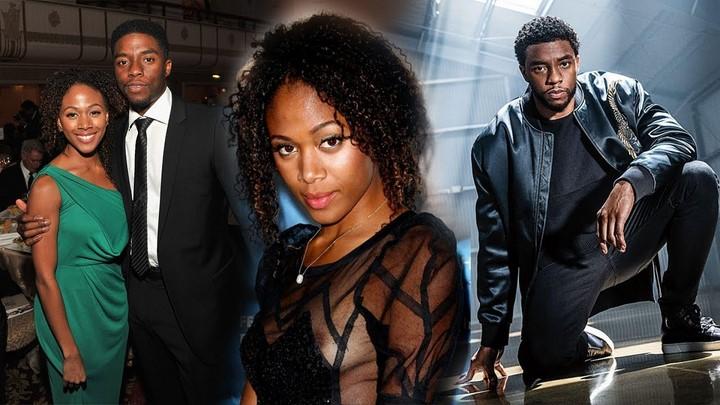 2) Chadwick Boseman (Fekete Párduc) és barátnője