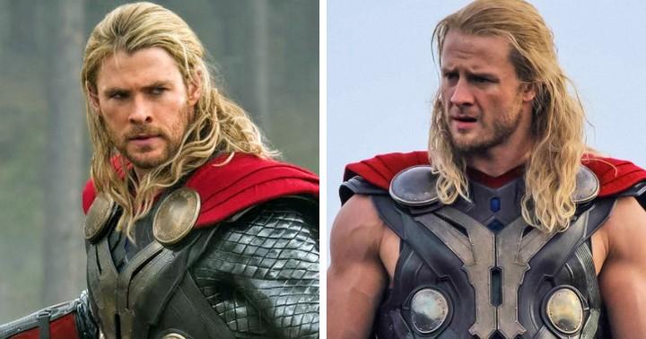 (2)Chris Hemsworth és Bobby Holland Hanton (Thor)
