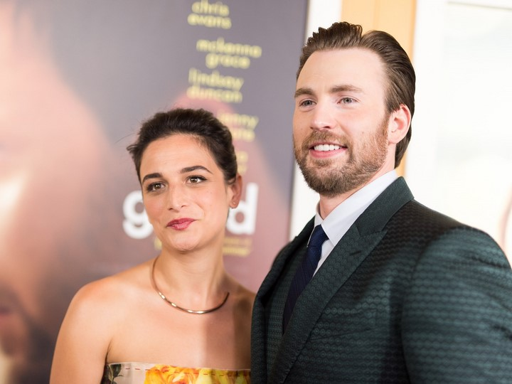 3) Chris Evans (Amerika Kapitány) és Jenny Slate
