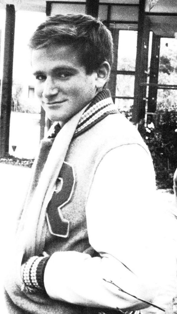 4. Robin Williams felsőéves középiskolásként. (1969)