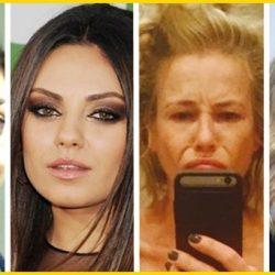 14 híres színésznő, akit smink nélkül lehetetlenség felismerni