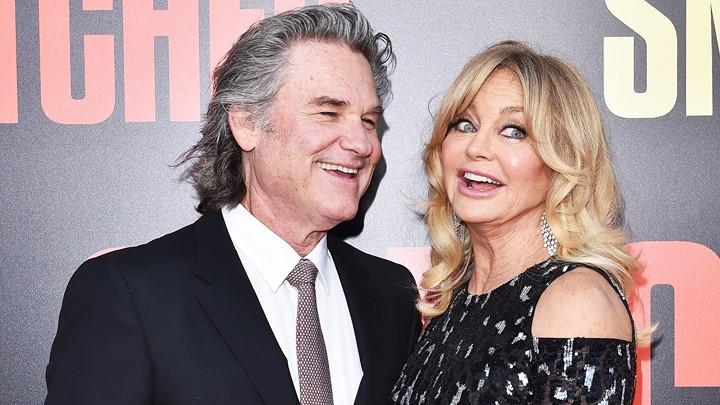 Kurt Russell (Mr. Senki) és felesége, Goldie Hawn (1983-)