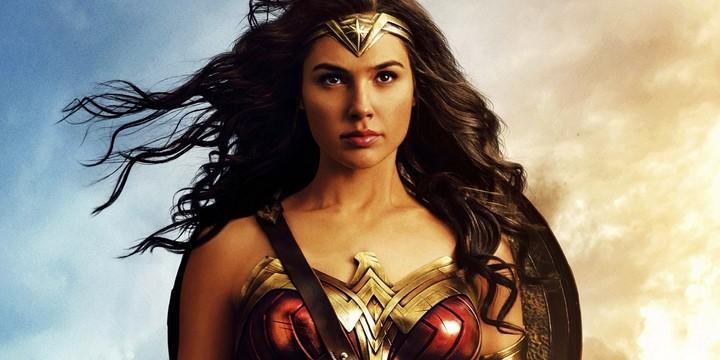 2) Gal Gadot - Wonder Woman