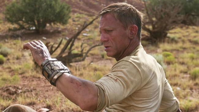 2)Daniel Craig a Cowboyok és űrlényekben