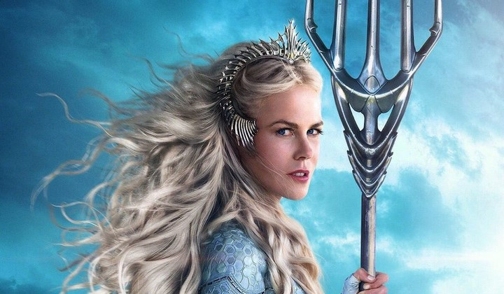 3) Nicloe Kidman - Atlanna hercegnő
