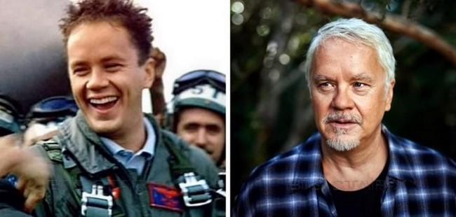 A Top Gun című film szereplői régen és most