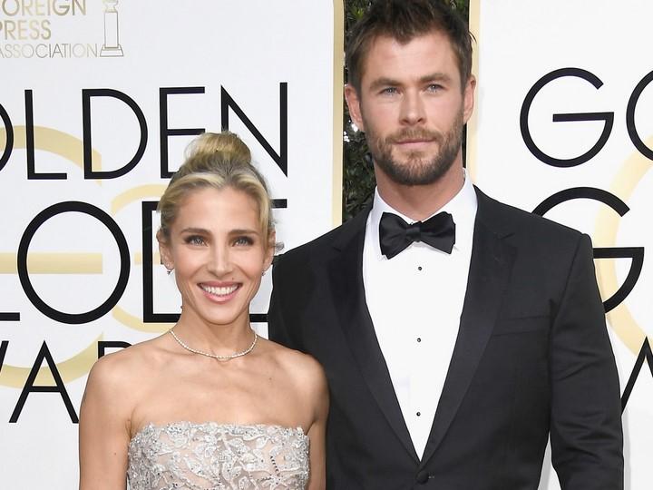 Elsa Pataky (Elena) és férje, Chris Hemsworth (2010-)