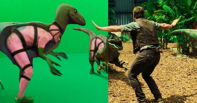 20 hihetetlen képkocka a vizuális effektek alkalmazása előtt és után