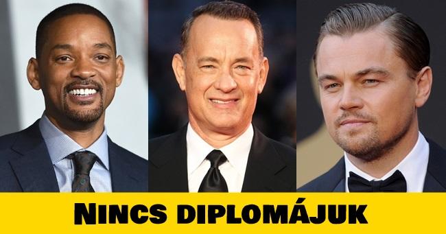10 sikeres hollywoodi sztár, akinek nincs diplomája