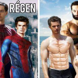 A Pókember filmek szereplői régen és most