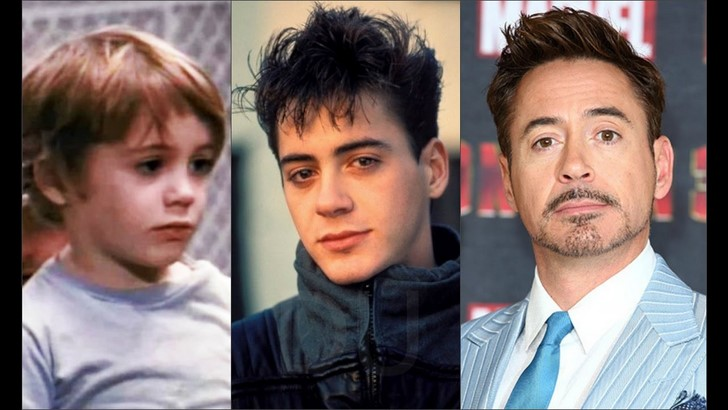 1) Tony Stark / Vasember - Robert Downey Jr.