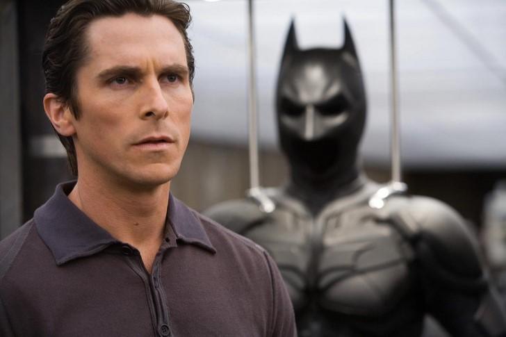 1)Batman/Bruce Wayne - Christian Bale