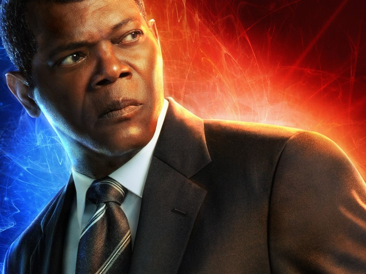 Samuel L. Jackson / Nick Fury (Marvel Kapitány)