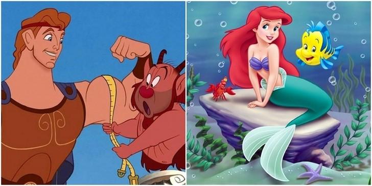 2. Herkules és Ariel unokatestvérek
