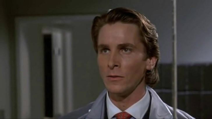 2. Christian Bale – Amerikai Pszicho
