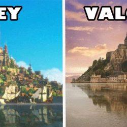 14 varázslatos hely, melyek inspirálták egyes Disney mesék helyszíneit
