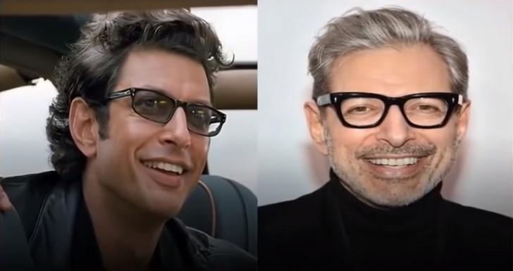 1. Jeff Goldblum (jelenleg 66 éves)
