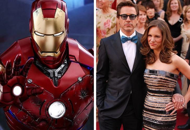 1. Robert Downey Jr. (Vasember) és a felesége, Susan Downey