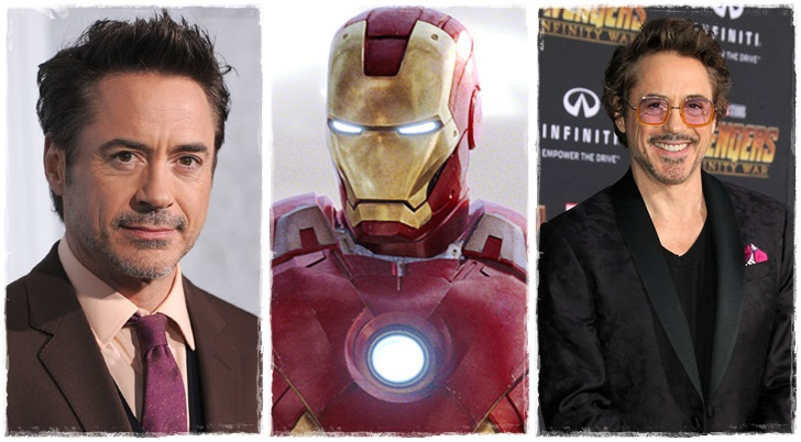 1) Robert Downey Jr. /Tony Stark, Vasember - Vasember/