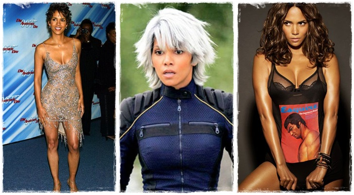2) Halle Berry /Ciklon - X-Men/
