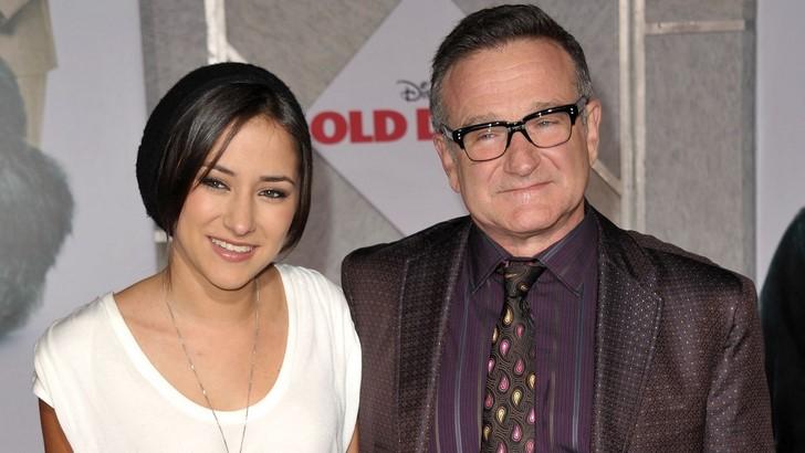 3) Zelda Williams, Robin Williams lánya