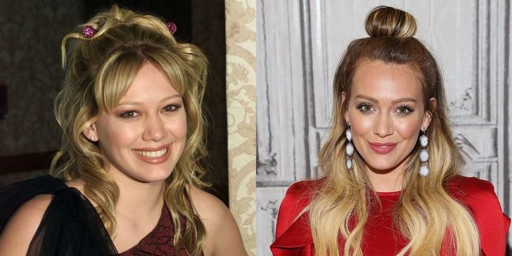 3) Hilary Duff