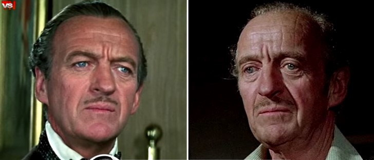 3) David Niven (Casino Royale - 1967)