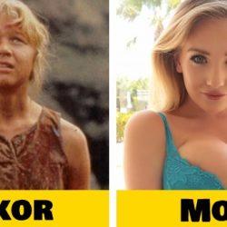 A Jurassic Park sztárjai régen és most