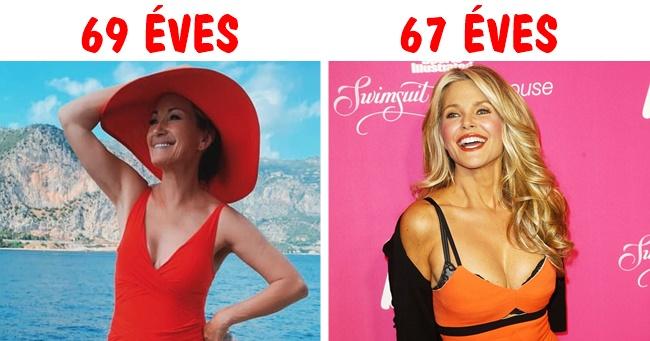 20 elképesztően csinos színésznő, akik jóval 60 év felett járnak