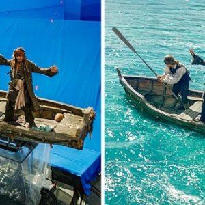 10 felvétel, ami bemutatja, hogyan készülnek valójában a kedvenc filmjeink
