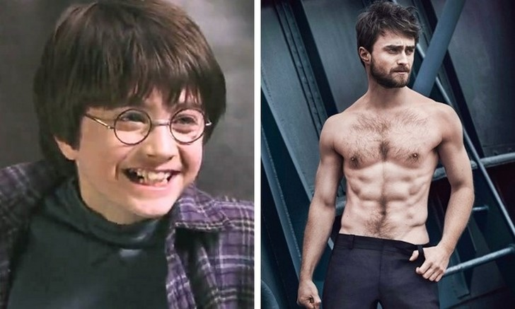 13. Daniel Radcliffe (Harry Potter)