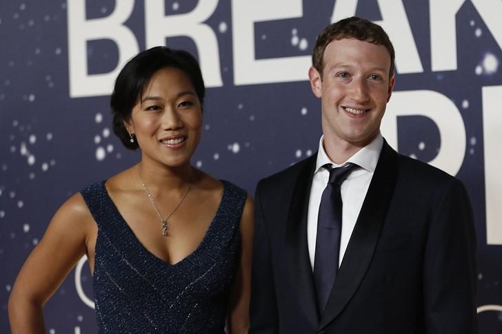 3.Mark Zuckerberg és Priscilla Chan