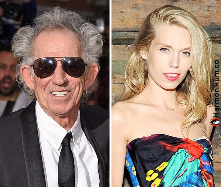 Keith Richards és Theodora Richards