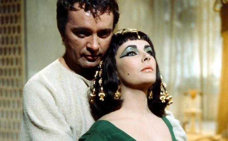 Elizabeth Taylor és Richard Burton