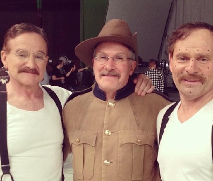 11. Robin Williams, és Mike Mitchell, Éjszaka a múzeumban