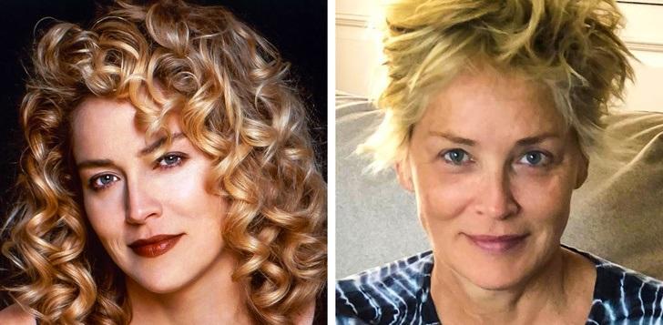 2)Sharon Stone (61 éves)