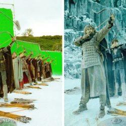 14 fotó híres filmek jeleneteiről speciális effektek előtt és után